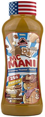 Max Protein Mc Mani Crema de Cacahuete, Sabor Suave - 500 gr