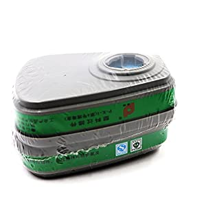 41QJCrqc 8L. SS300  - BearHoHo - Mascarilla de gas de cara completa, filtros respiradores reutilizables para pintura química