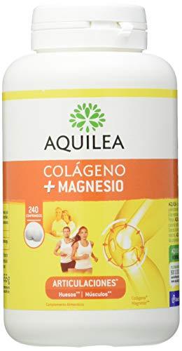 AQUILEA Colagen + Magnesio, Blanco, 200 G, 240 Comprimidos
