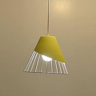 Simple Single Head Black Glass Lamp Cover Chandelier