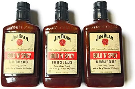 Jim Beam Bold N Spicy BBQ Sauce 2 Packs of Bold and Spicy Jim Beam Barbecue Sauce 2 product image