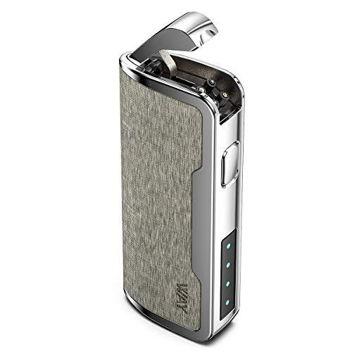 VVAY Elektro Lichtbogen Feuerzeug USB Aufladbar, Windfestes Plasma Arc Sturmfeuerzeug