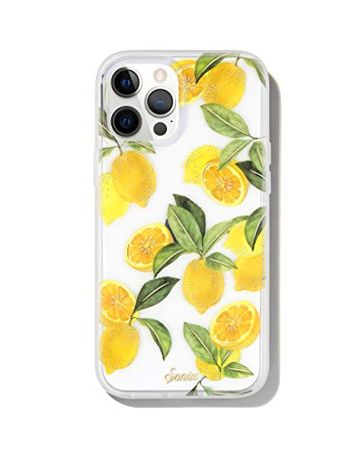 Sonix Lemon Zest Case for iPhone 12ProMax [10ft Drop Tested] Women's Protective Cute Clear Cover for Apple iPhone 12 Pro Max