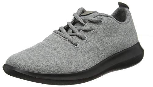 chung shi DUFLERINO , Zapatos bajos con cordones Mujer , antracita , 38 EU
