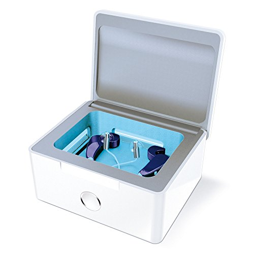 PerfectDry LUX Automatic Hearing Aid UV-C Disinfecting and Cleaning System