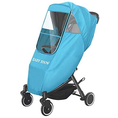 Eternitry Universal Baby Car Rain EVA Couverture Enfant Poussette Pare-Brise Parapluie Météo Bouclier Chaud Imperméable Pram Raincover Poussette