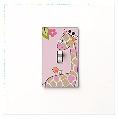 Got You Covered Jungle Jill Themed Giraffe Light Switch Cover Nursery Bedroom