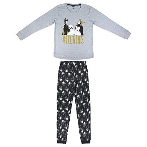 CERDÁ LIFE'S LITTLE MOMENTS 2200005839_T5XL-C53 Juego de Pijama, Gris, XL para Mujer