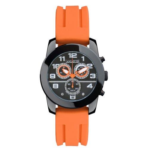 Lancaster Avant-Garde Unisex Sports Watch ola0466nrarar–Armbanduhr Herren Farbe orange