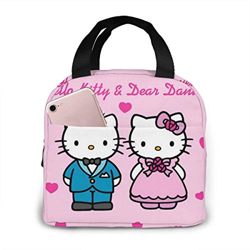 Hello Kitty and Dear Daniel - Bolsa de almuerzo con aislamiento para...