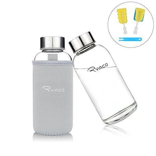 con Tapa de Mango 50 ML Transparente Botella de Agua para Deportes sin BPA bottlebottle Tritan