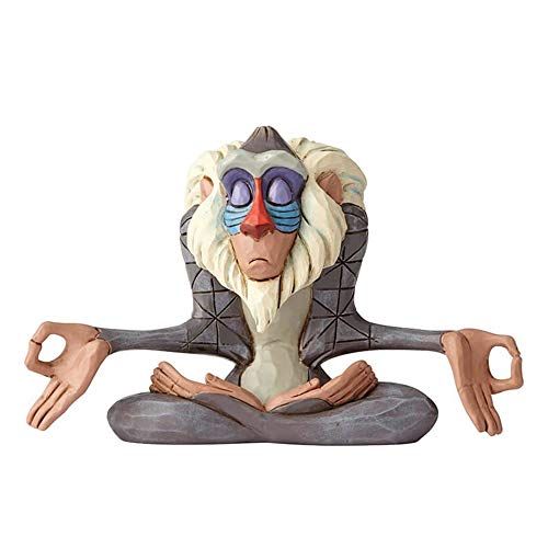 Disney Traditions 6000962 Rafiki-Mini Figurina, Resina, Multicolore, 70x110x80 cm