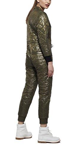 OnePiece Damen Urbanista Jumpsuit, Grün (Army), 40 (Herstellergröße: L) - 2