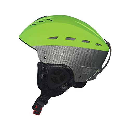Zyy Ski/Snowboard helm, Unisex Freeride Ultralight Winter Warm Afneembaar Ontwerp Gewicht 510g