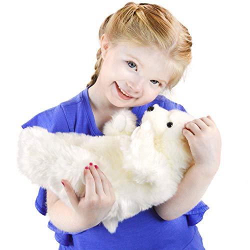 VIAHART Persephone The Polar Bear | 12 Inch Stuffed Animal Plush | by Tiger Tale Toys