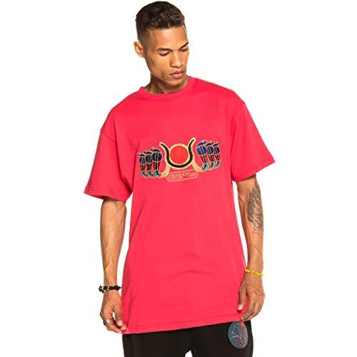 GRIMEY Camiseta Engineering tee FW19 Red-M