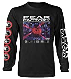 Fear Factory 'Soul of A New Machine' (Black) Long Sleeve Shirt (Small)