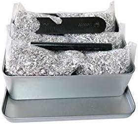 Jet Emergency Fire Starter Magnesium 5 Bags 1Free Tin Box Match Kit Camping Hiking Bushcraft product image