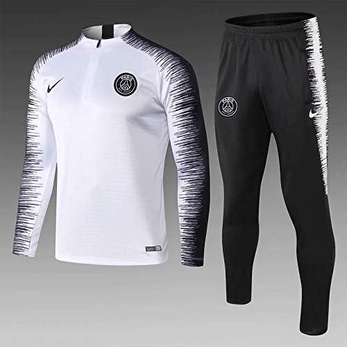Ensemble SurvêteHommest PSG Jordan Blanc Noir VAPORKNIT Strike 2019 2020