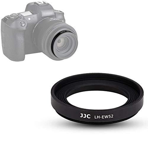 JJC Gegenlichtblende für Canon RF 35mm f/1.8 Macro is STM Objektiv mit Canon EOS RP ersetzt Canon EW-52 Gegenlichtblende