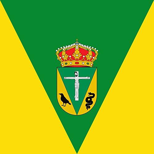 magFlags Bandera Large Municipio de San Vicente de Arévalo Castilla y León | 1.35m² | 120x120cm