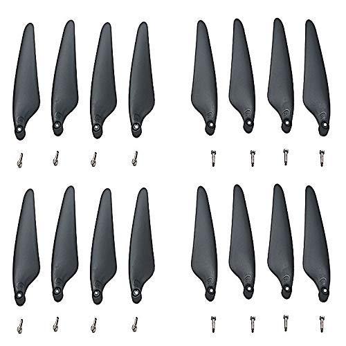 Ellenbogenorthese-LQ Drone Propeller 16 Piezas de hélice para Hubsan Zino H117S Accesorios para Aviones aéreos de Cuatro Ejes Drone Remoto CW CCW Shovel Accesorios para Drones ( Color : Black )