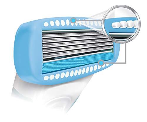 Schick Hydro Silk TrimStyle Hydrating Razor & Bikini Trimmer, Includes 1 Razor Refill