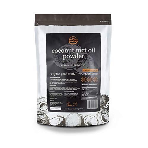 MCT Powder, 750g, Medium Chain Triglycerides Pure C8 & C10 only, Keto, Vegan, Soluble, GMO Free, Brain & Body Fuel