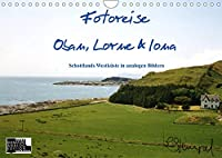 Fotoreise Oban, Iona & Lorne (Wandkalender 2022 DIN A4 quer): Schottlands schoenste Seiten in analogen Aufnahmen (Monatskalender, 14 Seiten )
