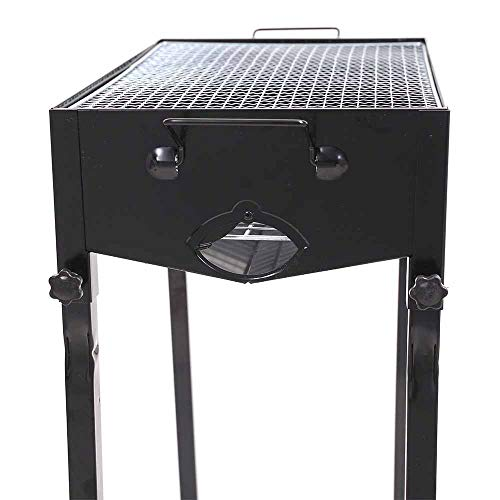 Charcoal Barbecues, Portable BBQ Grill, Folding Barbecue Grill, For Camping Picnic Outdoor Garden Party