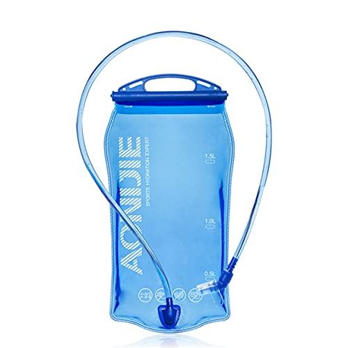 1L/1.5L/2L Bolsa De Agua para Mochila Mochila de hidratación, Pack de hidratación para Correr Bolsa de Agua para Ciclismo, Escalada, Camping, Senderismo (1.5L)