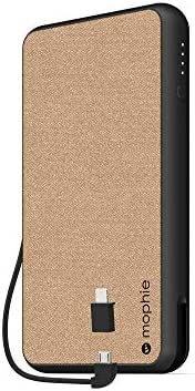 mophie powerstation Plus XL 10 000mAh Qi Wireless Charging with Built in Micro USB and Lighning product image