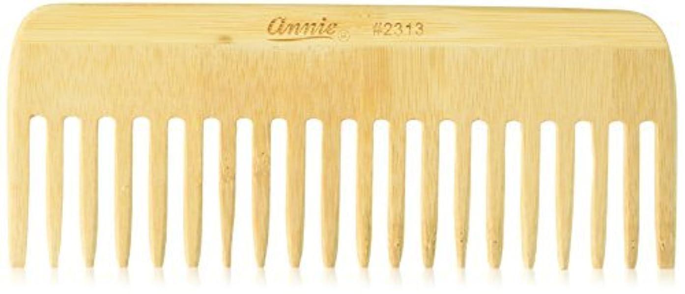 著名な採用する天Annie Bamboo Volume Comb, 7 Inch [並行輸入品]