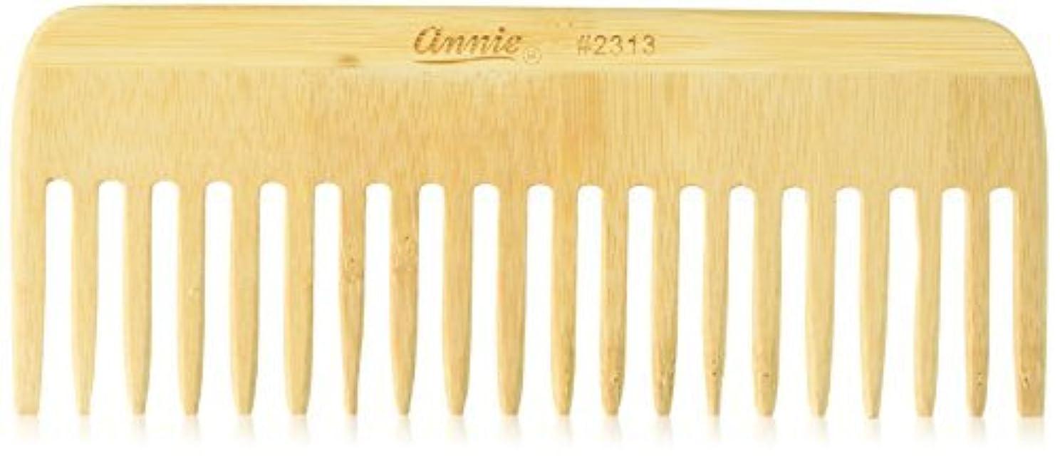 威する汚す納屋Annie Bamboo Volume Comb, 7 Inch [並行輸入品]