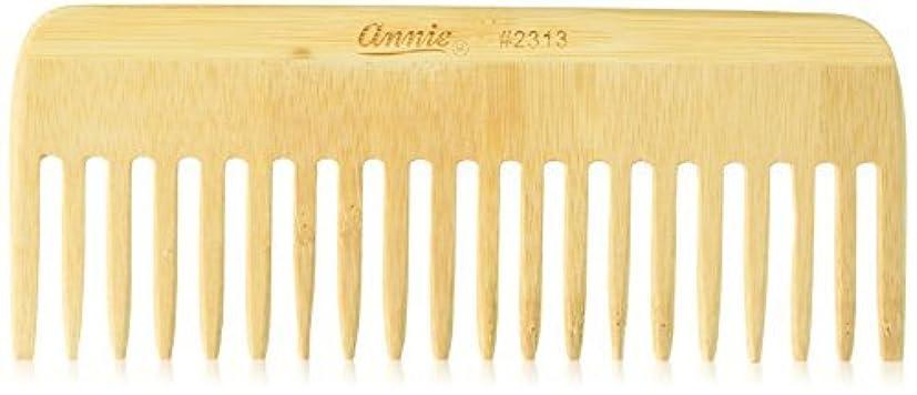 ごめんなさいコンピューターグラフィックAnnie Bamboo Volume Comb, 7 Inch [並行輸入品]