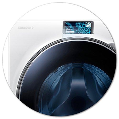 Bruni Schutzfolie kompatibel mit Samsung WW10H9600EW/EG Folie, glasklare Displayschutzfolie (2X)