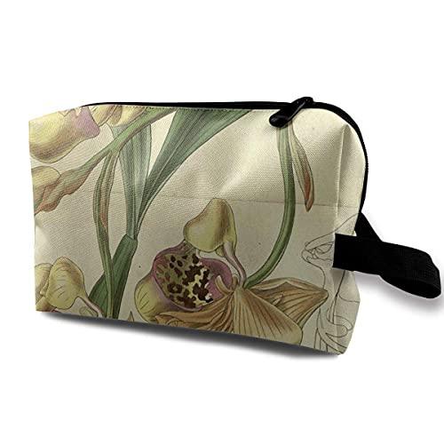 Lawenp Bolsa de cosméticos Bolsa de cosméticos de viaje Bolsa de cosméticos de artículos de tocador para viajes y regalos para el hogar Trampa de mosquitos amarilla