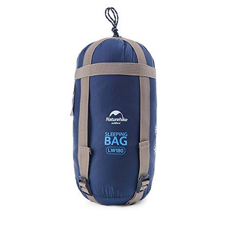 Naturehike Tentock Esterna Impermeabile Ultralight Envolope Sacco a Pelo per Campeggio, Escursionismo, Viaggi, 2Persona, Dark Blue