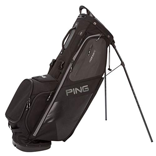 PING 2018 Hoofer 14 Carry Stand Golf Bag, Black