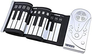 Orion Electronic 49-Keys Piano Portable Flexible Foldable Roll Up Soft Piano Keyboard