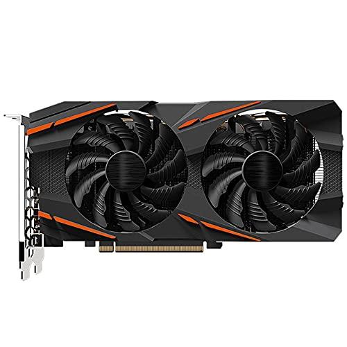 DBG RX580 8GB Tarjeta de videojuega GPU RX580 Gaming 8G Tarjetas de gráficos para A-M-D Tarjeta de Video Mapa HDMI