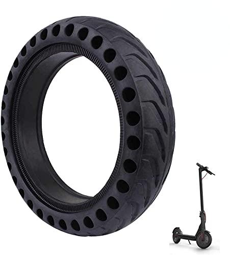HAPPY-HAT Anti Pinchazos Neumáticos Macizos Panal, 8.5 Pulgada Scooter Neumáticos Seguridad Fácil De Instalar Rueda Repuesto - para Scooter Electrico Coche Equilibrio