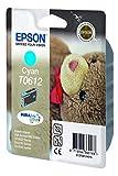 Epson Cartucho De Tinta T0612 Cyan 8Ml válido para EPSON Stylus DX4800 / DX4850 / DX4200 / DX4250 /DX3800 / DX3850 / D88 / D88+ / D68 Photo Edition, Ya disponible en Amazon Dash Replenishment