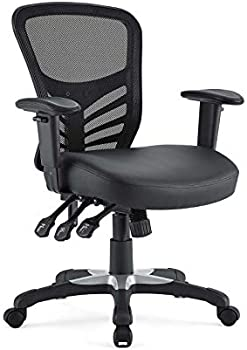 Modway Articulate Mesh Vegan Leather Office Chair