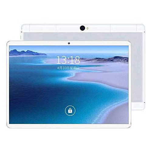 10.1 Inch Android Tablet, 1280x800 HD IPS screen, Android 8.1 Tablet Quad Cor with Dual Camera, 1GB Ram+16GB Disk, Wifi, Bluetooth