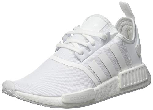 adidas NMD_R1, Sneaker Hombre, Footwear White/Footwear White/Footwear White, 41 1/3 EU