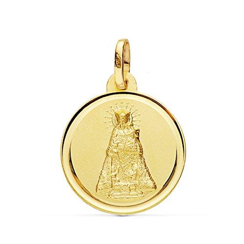 Medalla Virgen de los Desamparados 18 Ktes 18mm