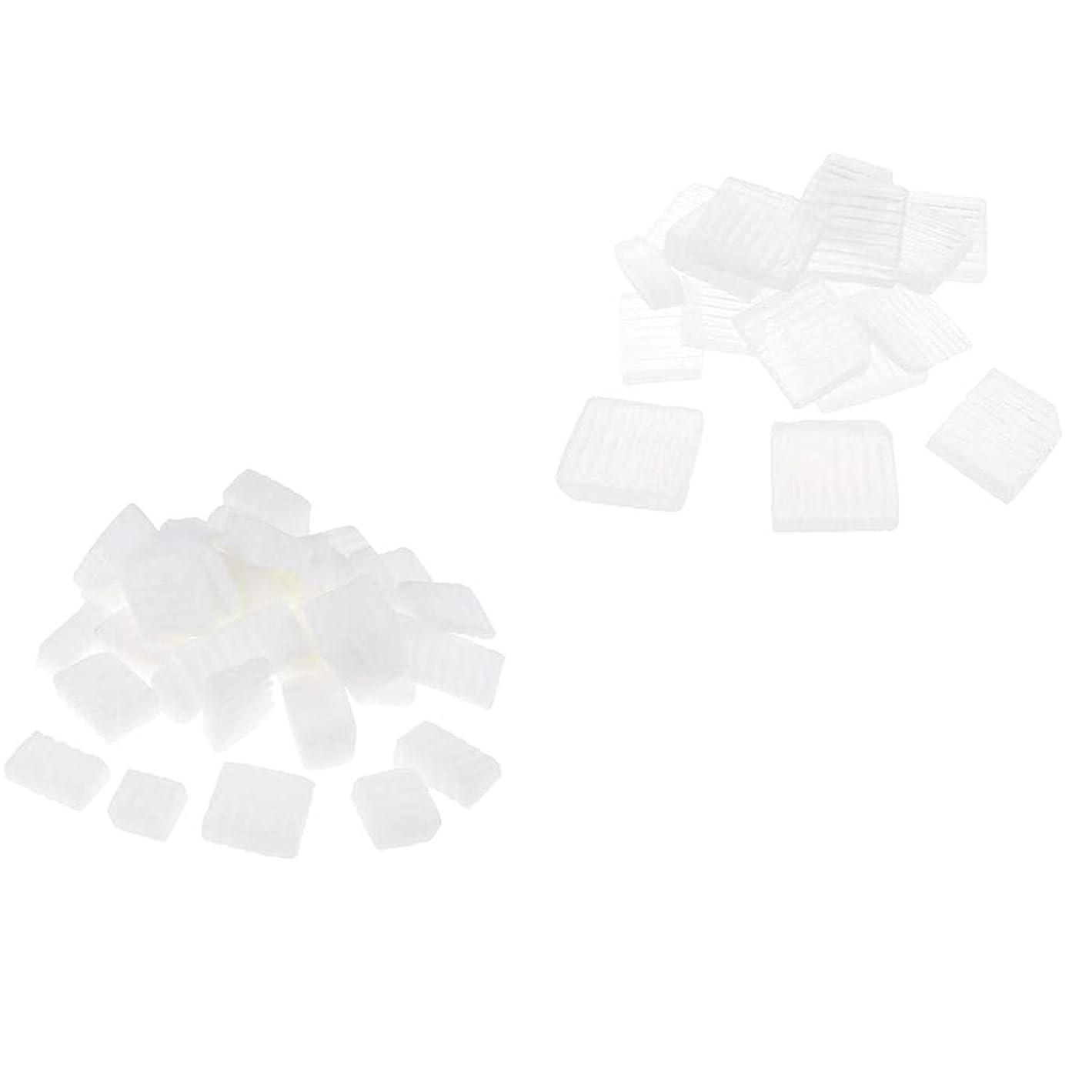 パキスタン人減らす定規D DOLITY 固形せっけん 2KG ホワイトクリア DIY工芸 手作り バス用品 石鹸製造 創造力 2種 混合