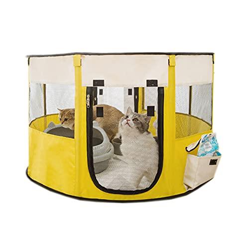 Carpa Cerrada para Mascotas, Interior Y Exterior General, Caja De Cría De...
