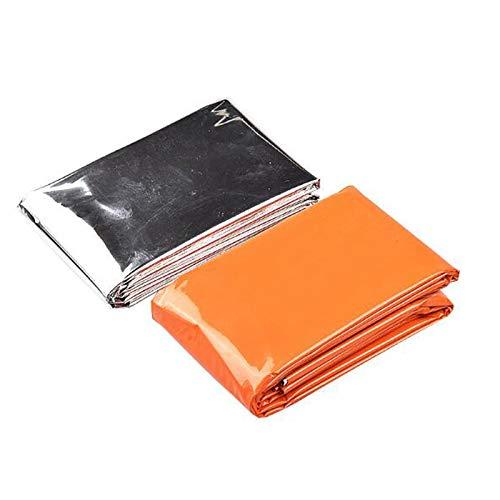 Paquete de 2 mantas térmicas desechables para tienda de cam